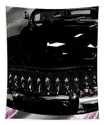 Classic Car In Black Tapestry