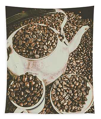 Classic Coffee  Tapestry