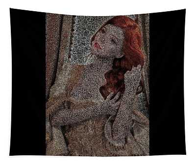 Classic Red Tapestry