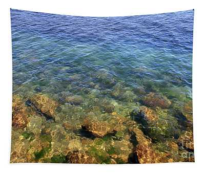 Clear Water At Morro Bay Tapestry