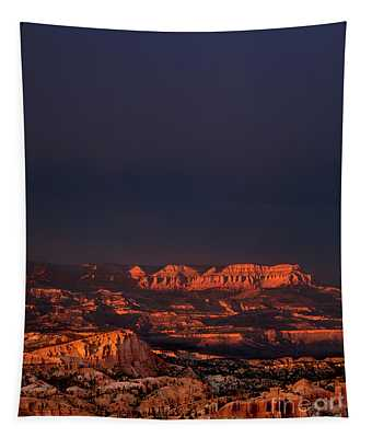 Clearing Storm Rainbow Bryce Canyon National Park Utah Tapestry
