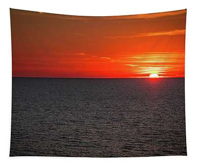 Clearwater Sunset Tapestry