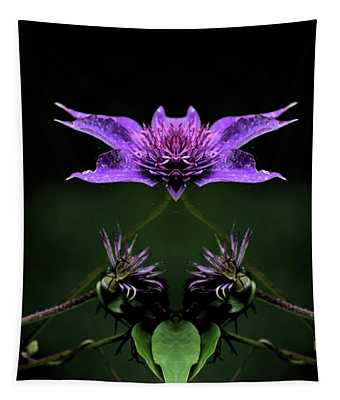 Clematis 1 Tapestry