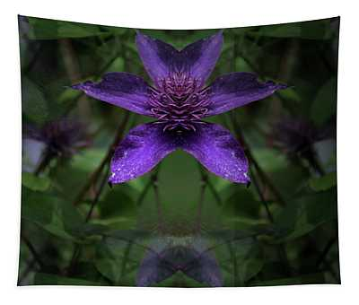 Clematis 4 Tapestry