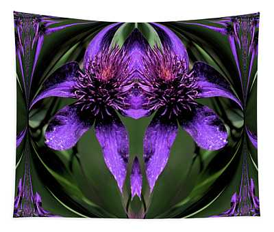 Clematis 5 Tapestry