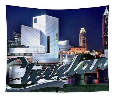 Cleveland Ohio 2019 Tapestry