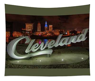 Cleveland Proud  Tapestry