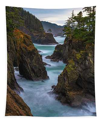 Cliffside Views Tapestry