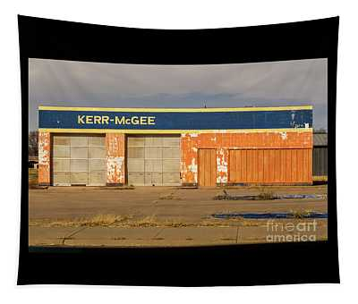 Closed Kerr - Mcgee Station Tapestry