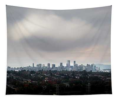 Cloud On Vancouver  Tapestry