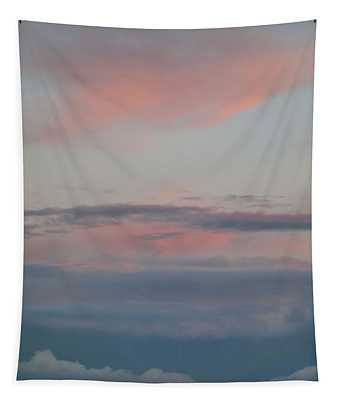 Clouds Over The Ocean Tapestry