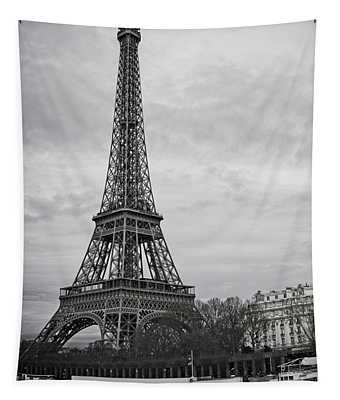 Cloudy In Paris Tapestry