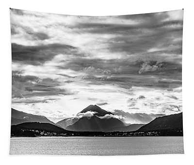 Cloudy Mountain Tapestry