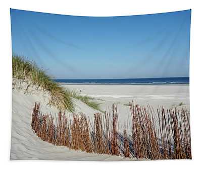 Tapestry featuring the photograph Coast Ameland by Anjo Ten Kate