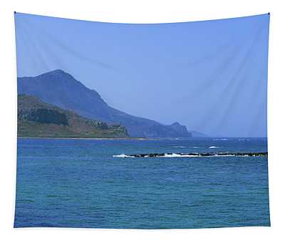 Coast Of Gramvousa Tapestry