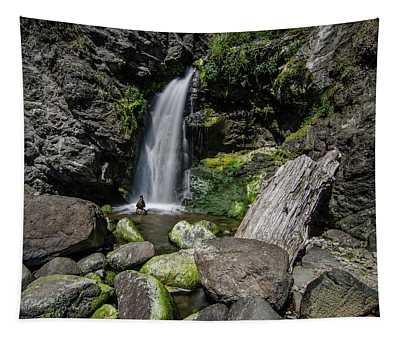 Coastal Falls Tapestry