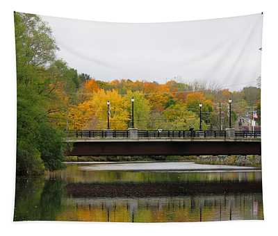 Cocheco River Bridge Tapestry