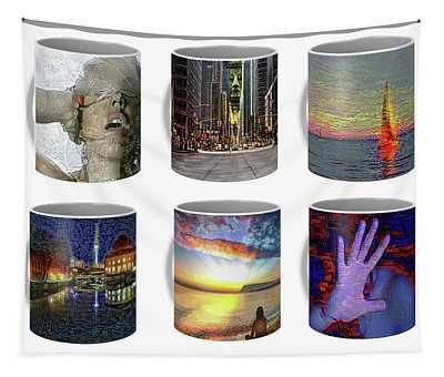 Coffee Mugs Samples Tapestry