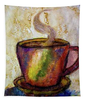 Coffee Spill Tapestry
