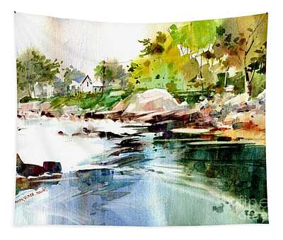 Cohasset Rapids Tapestry