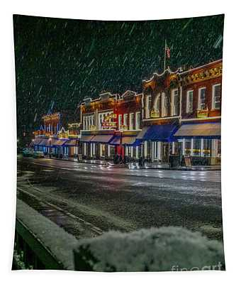 Cold Night In Cripple Creek Tapestry