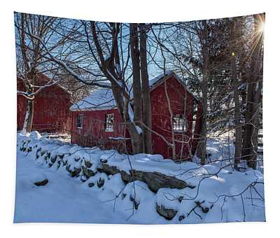 Cold Winters Morn Tapestry