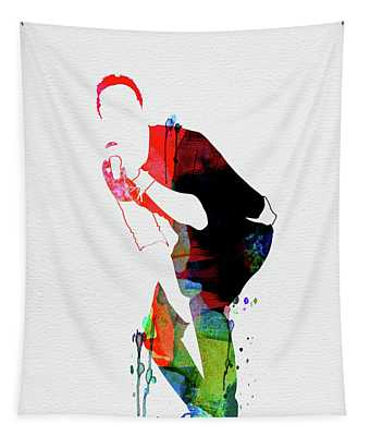 Coldplay Watercolor Tapestry