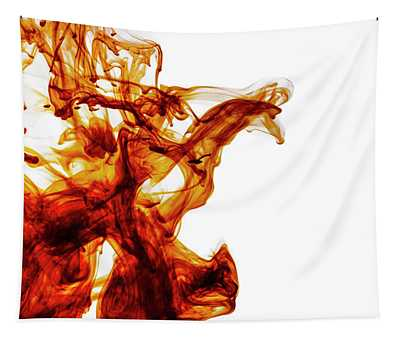 Color Liquid Motion In Water. Abstract Paint Splash Background.  Tapestry