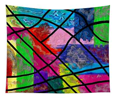 Color Madness Tapestry