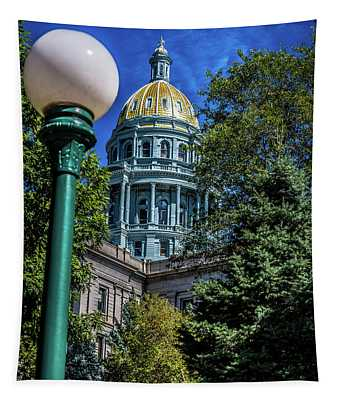Colorado State Capital Tapestry