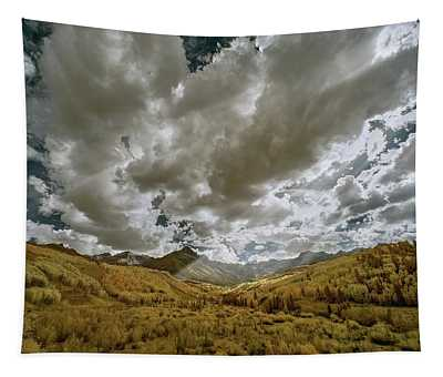 Colorado Sun Rays Tapestry