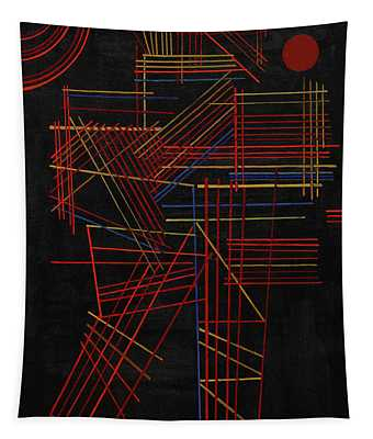 Colored Sticks, 1928 Tapestry