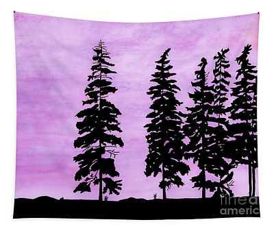 Colorful - Alaska - Sunset Tapestry
