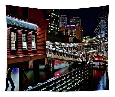 Colorful Boston Museum Tapestry