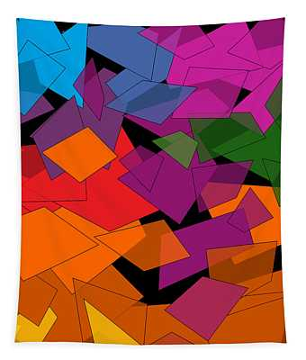 Colorful Chaos Tapestry
