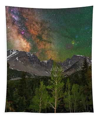 Colorful Darkness Tapestry