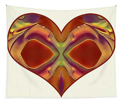 Colorful Heart - Naked Truth - Omaste Witkowski Tapestry
