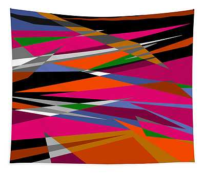 Colorful Reaction Tapestry