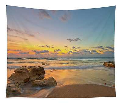 Colorful Seascape Tapestry