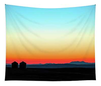Colorful Sunrise Tapestry