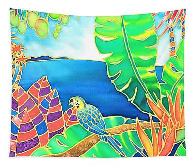 Colorful Tropics 16 Tapestry