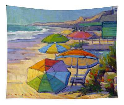 Colors Of Crystal Cove Tapestry