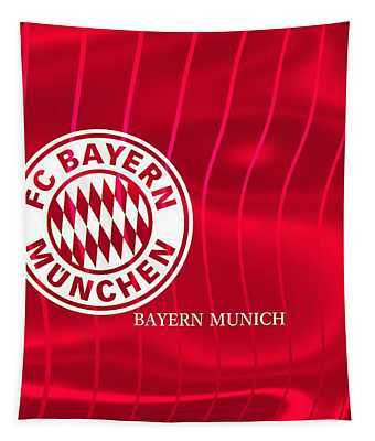 Colors Of Munchen Tapestry