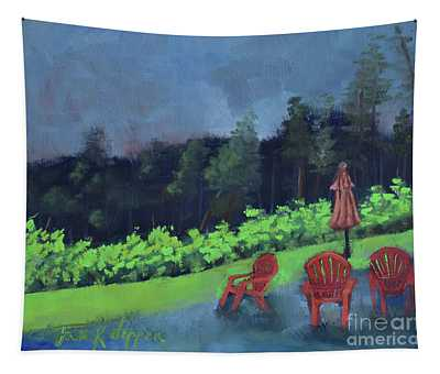 Come Sit By Me For Awhile-ott Farms And Vineyard Tapestry