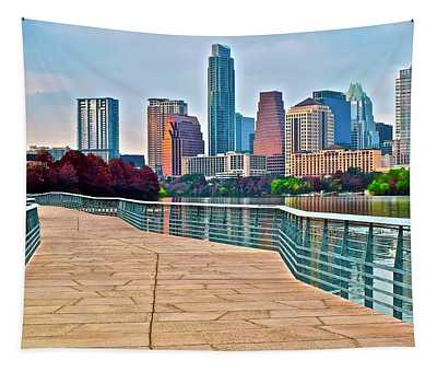 Come To Austin Texas Tapestry