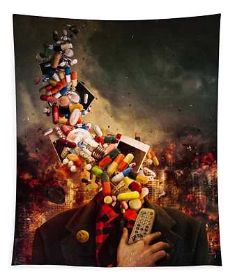 Comfortably Numb Tapestry