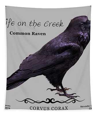 Common Raven Tapestry