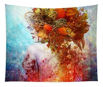Compassion Digital Art Wall Tapestries
