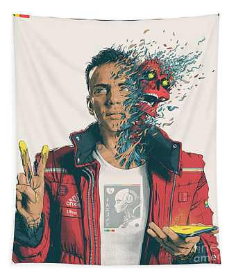 Confessions Of A Dangerous Mind Album Cover Logic Tapestry