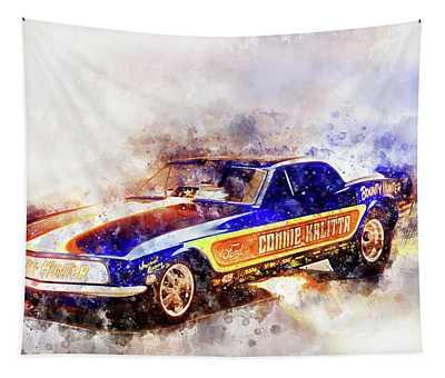 Connie Kalitta Bounty Hunter Tapestry